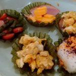食べれるうつわの焼き海苔カップでお弁当用のおかず作ってみたら